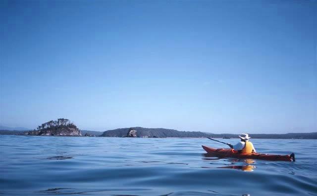 Kayaking Batemans Bay