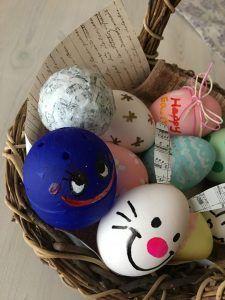 イースターエッグDIY① 作ってみよう♪ 本物の卵を使用した作り方から~お家ですぐできる簡単お手軽な方法まで♪