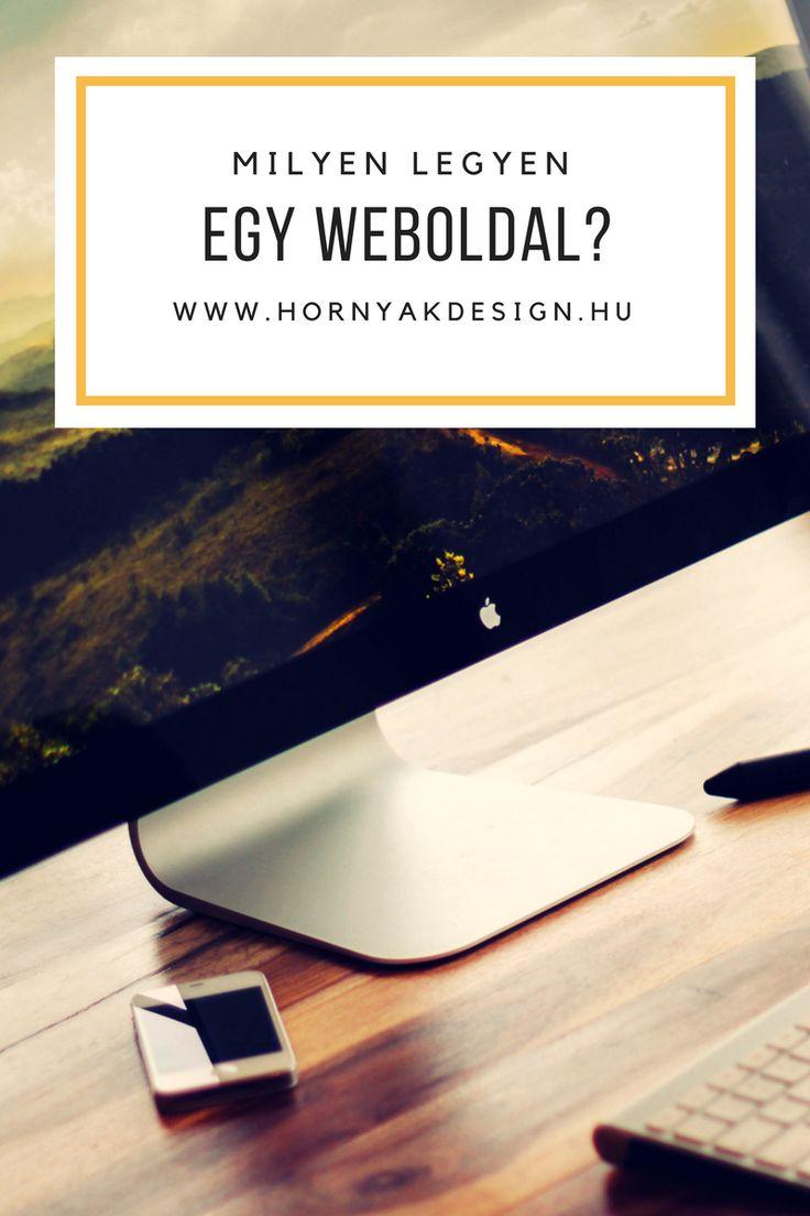 Milyen legyen egy weboldal?