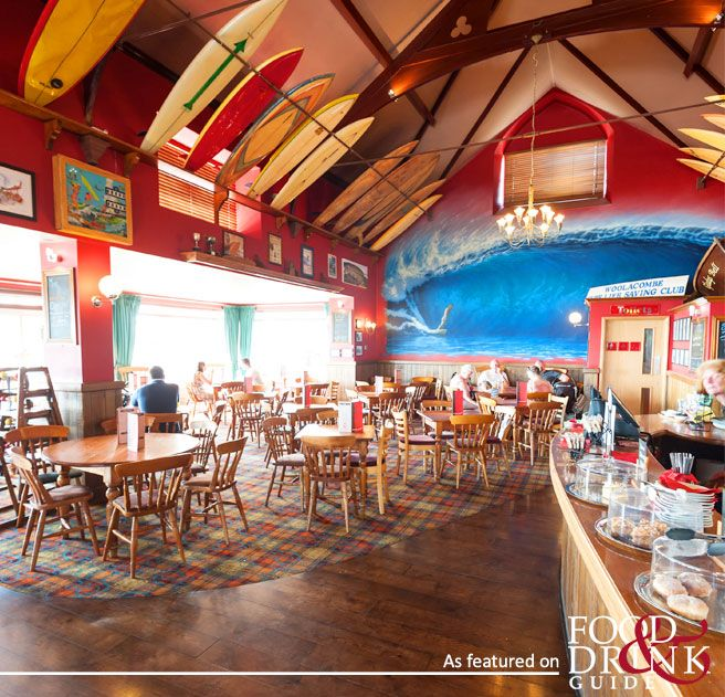 A true surfer-style eatery in Devon - The Red Barn in Woolacombe