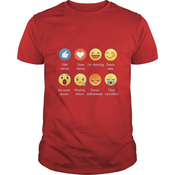 Dancing shirt I Love Dance Emoji Tee Shirt, Order HERE ==> https://www.sunfrog.com/LifeStyle/110753131-330286784.html?89700, Please tag & share with your friends who would love it, #renegadelife #jeepsafari #xmasgifts