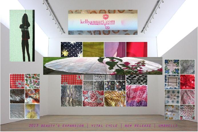 kellyannart.com | vital cycle | 2013 beauty's expansion | umbrelli