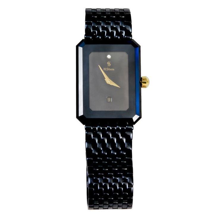 ec3311d5c84 H. STERN Sapphire Crystal Watch em 2019