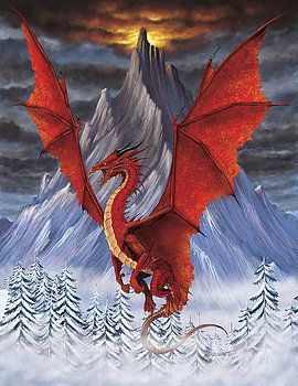 The Welsh red dragon is a species of fire dragon found in Wales. A highly territorial and aggressive dragon, they make their homes in caves. Welsh red dragons were the inspiration of the stereotypical western dragons. They follow those characteristics to the letter. They're one of the few species who actively resist cooperation between human and dragons.