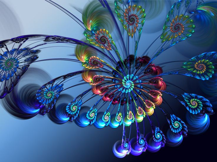 top fractal wallpapers floral - photo #7
