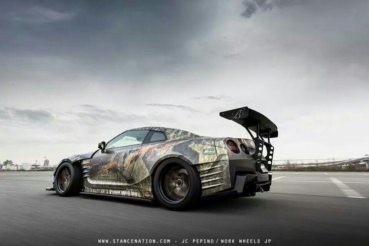 Nissan GTR,
