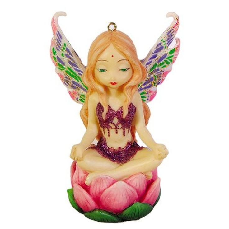 Lotus Fairy Figurine