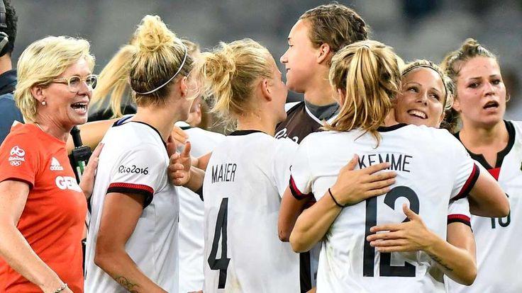 Olympia 2016, Frauenfußball, Finale, Deutschland, Schweden