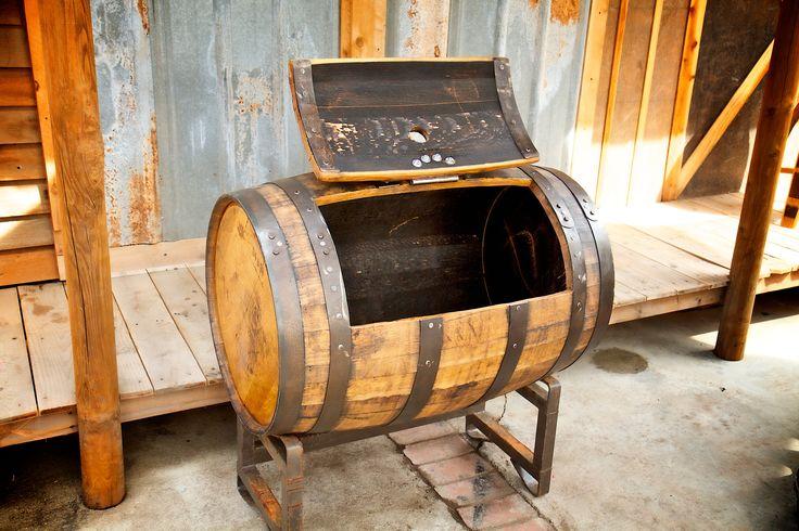 Treasure Chest Barrel Cooler Outdoor Living Beverages