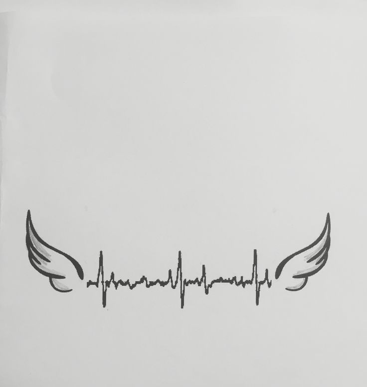 Heartbeat tattoo - need to add Ethan's name and use his last heartbeat
