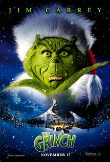 Jim Carrey WAS The Grinch - perfect casting.