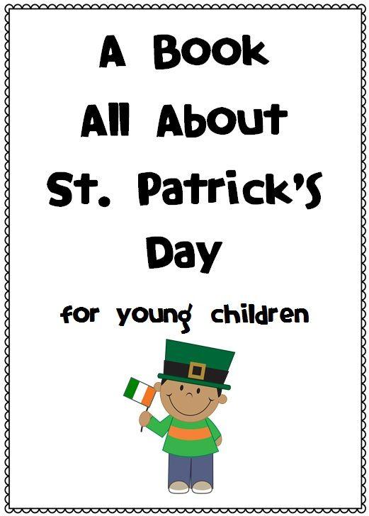 FREE St. Patrick's Day Book - customs, traditions, origins and symbols http://www.teacherspayteachers.com/Product/FREE-St-Patricks-Day-Book-customs-traditions-origins-and-symbols-550284