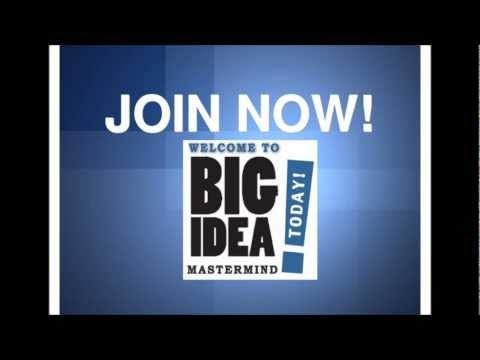 What are the secrets of Big Idea MasterMind TODAY?   There are a lot of secrets of Big Idea MasterMind TODAY! It's about system, about You.  http://www.bigideamastermindtoday.com