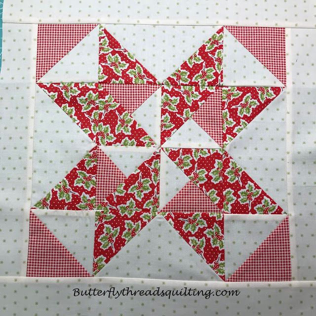 Butterfly Threads Quilts Christmas Magic Butterfly