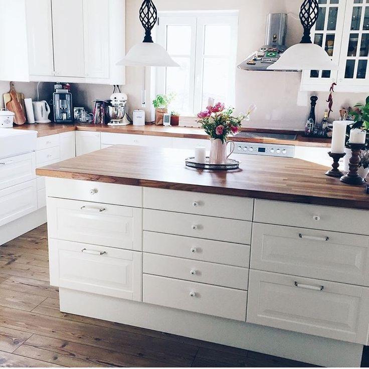 die besten 25 k che insel ideen auf pinterest kuecheninsel kleine k che mit insel und u. Black Bedroom Furniture Sets. Home Design Ideas