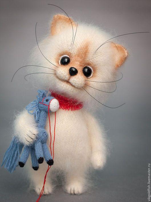 Игрушки животные, ручной работы. Ярмарка Мастеров - ручная работа. Купить Поночка-крошка и Иго-гошка. Handmade. Кот