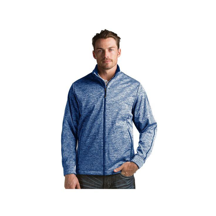 Men's Antigua Modern-Fit Golf Jacket, Size: Medium, Dark Blue