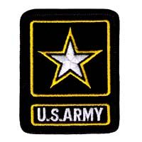 US Army Embroidered Iron or Sew on ARMY OF ONE Patch $2.95
