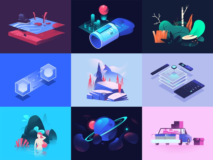 Looking back, 2016 was a very important year for me. I found my niche, started freelancing full time and realized this could actually be a realistic long term plan. Thank you Dribbble, you were a b...