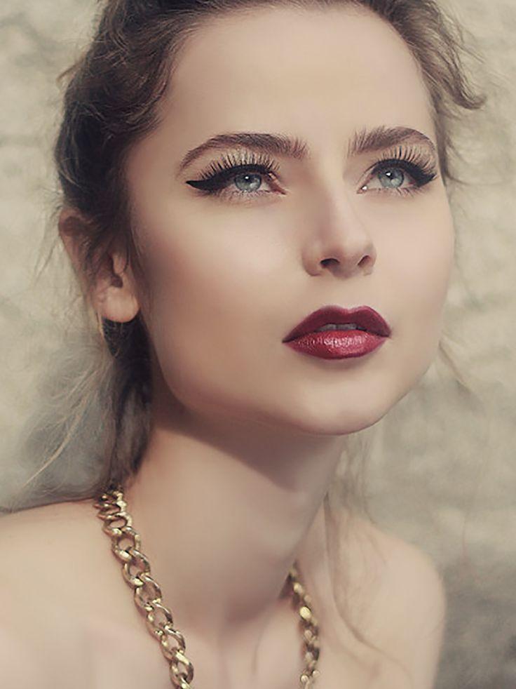 Beauty makeup Fall 2013 by Gustavo René Bortolotti