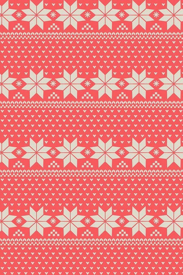 winter pattern wallpaper.