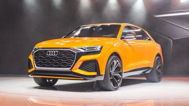 2018 Audi Q8 Sport Yellow