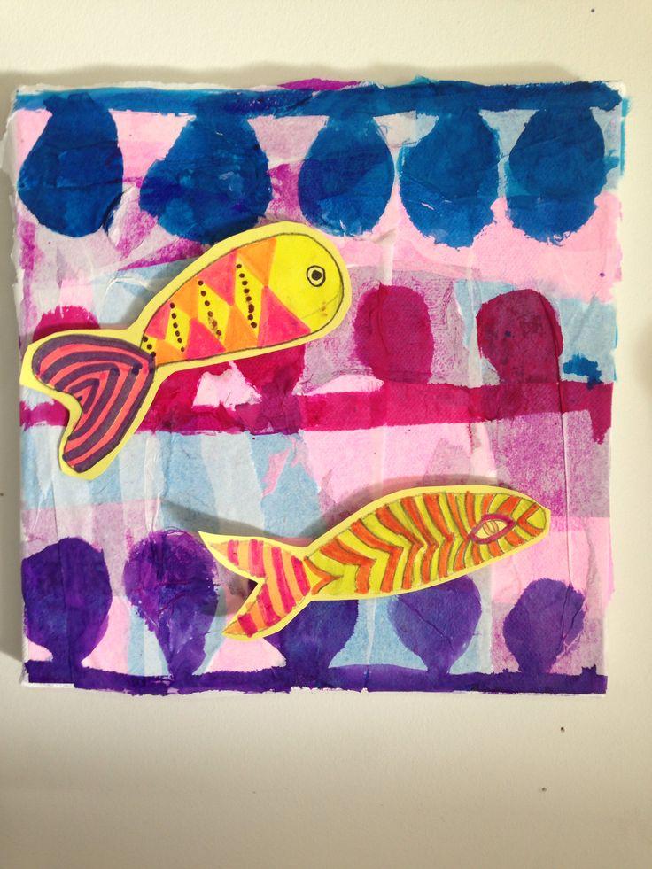 Fish art bij Emma