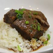 Asian Beef in pressure cooker-----wonderful flavors.  mmm   Calls for boneless short ribs but chuck eye steak cut up would be great too.  Try this and DO read the tasting notes at end of recipe.  p.s. Sticky rice in pressure cooker in 6 minutes!