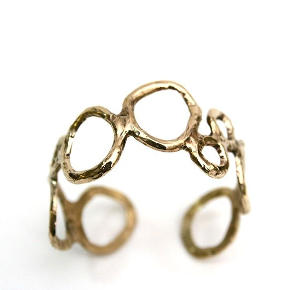 Bubbles bangle #bronze #veronicacaffarelli