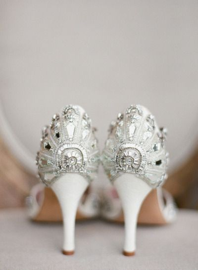20 Glam Silver Wedding Shoes That WOW!   http://www.deerpearlflowers.com/silver-wedding-shoes-that-wow/