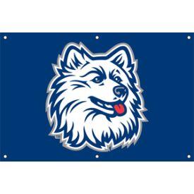 Connecticut Huskies Door Banner