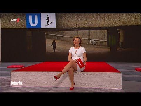 Anna Planken - short dress + high heels 18.05.2016 - YouTube