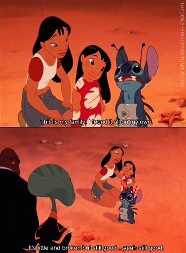 -Lilo and Stitch quotes