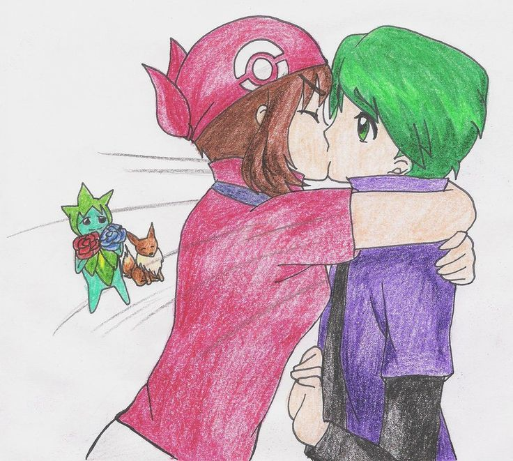 ShuuHaruka - Haruka kiss Shuu stormy by spring-angel on ...