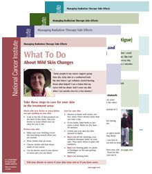 Radiation Therapy Side Effects Sheets - National Cancer Institute