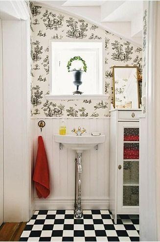 merdiven altı banyo dekorasyonu
