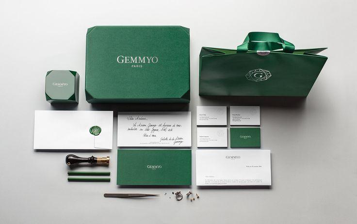 Branding Gemmyo by #LeGoffetGabarra #jewels #joailler #Gemmyologie #gem #Gemmyo #Identity #design #global Design