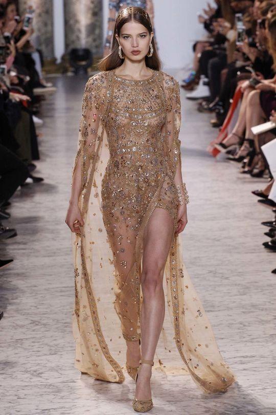 Elie Saab haute couture spring 2017 - Vogue Australia