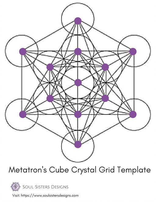 12 best Crystal Grid Templates images on Pinterest