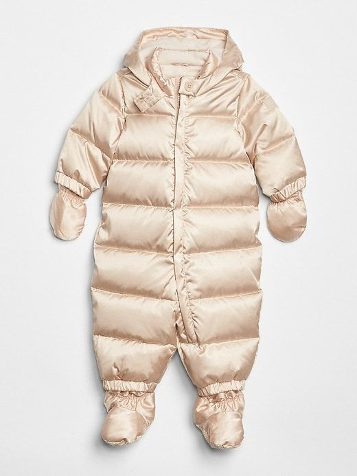 cf69372dadb8 Gap Baby Coldcontrol Max Snow Suit Metallic Frost