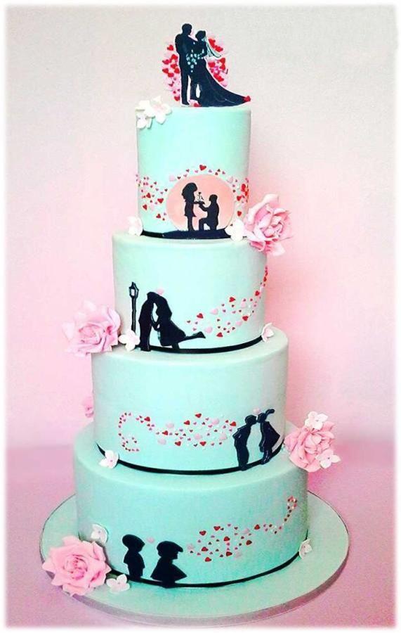 ♥♥♥  10 bolos de casamento tão lindos que vão conquistar você Está na hora de escolher um entre dezenas de bolos de casamento lindíssimos! Por isso fizemos uma seleção arrasadora para você se inspirar! http://www.casareumbarato.com.br/10-bolos-de-casamento-lindos/