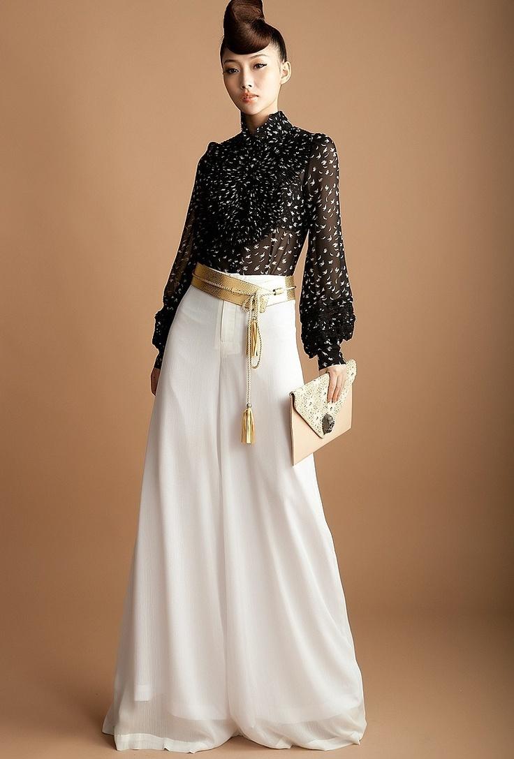 Calça Pantalona Importada G Excepcionalmente Elegante Branca