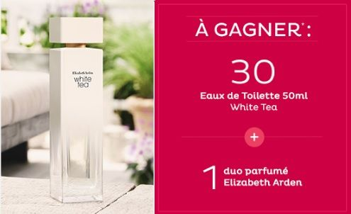 31 lots de parfums Elizabeth Arden à gagner | Echantillons gratuits, réductions et cadeaux