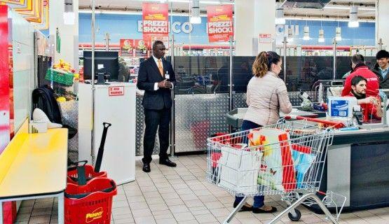 Addetto alla sicurezza supermercati e GDO