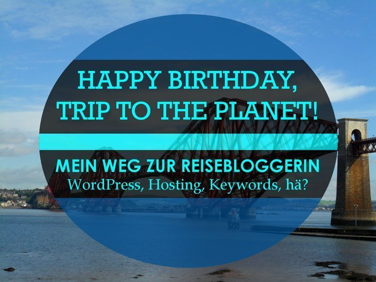 Mein Weg zum Reiseblogger WordPress Hosting Keywords