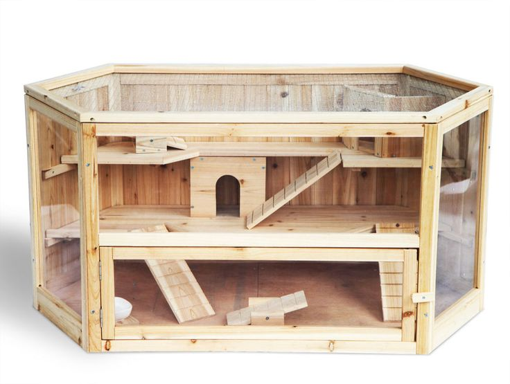 Hamsterkäfig Kleintierkäfig Nagerstall Mäusekäfig Rattenkäfig Holz Stall HT2007 in Haustierbedarf, Klein- & Nagetiere, Käfige, Auslauf & Gehege | eBay!
