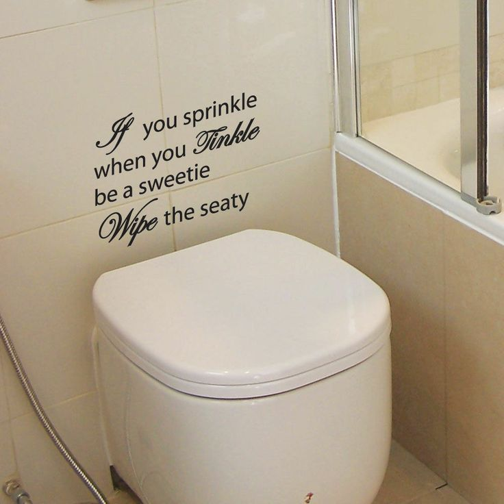 If You Sprinkle Bathroom Wall Quote Art Stickers Wall Decals