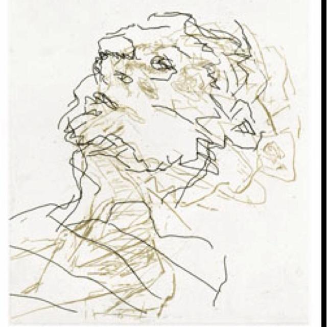 Frank Auerbach sketch