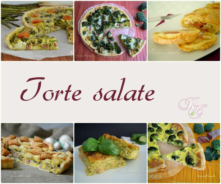 Torte salate - ricettario scaricabile