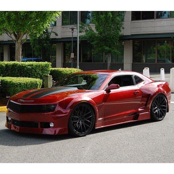 Camaro Vermelho